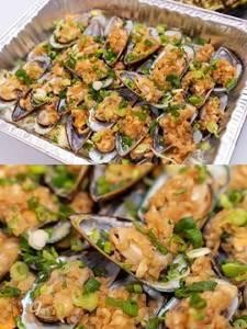 Mussels Vermicelli In Garlic Sauce 蒜蓉粉丝蒸青口